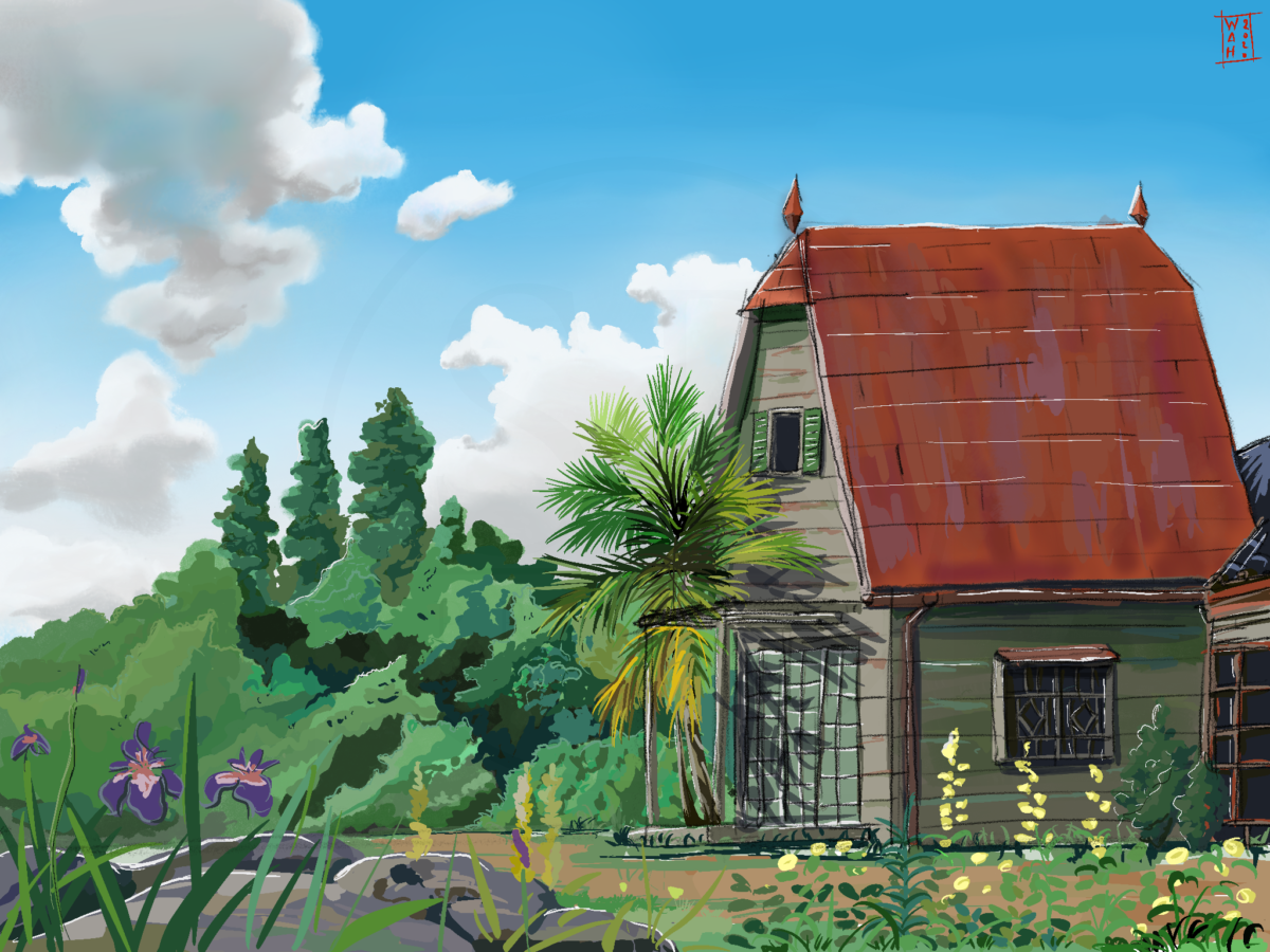 Satsuki and Mei's house from My Neighbor Totoro